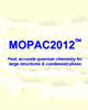 MOPAC2012 Interface for Chem3D 15